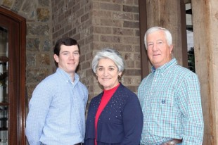 Matt, Pat and John Woolfolk